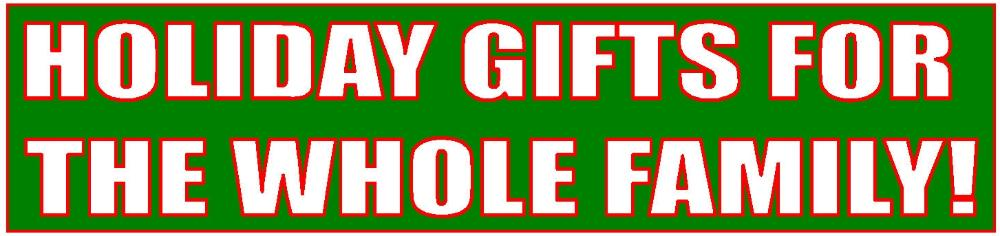 holiday gifts smaller banner